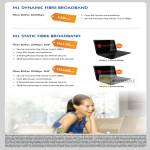 Business Dynamic Fibre Broadband, Static Fibre Broadband BizPac