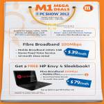 Fibre Broadband 100Mbps, Free HP Envy 4 Sleekbook Notebook