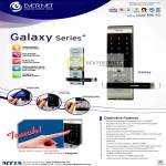 MT18 Global Evernet Digital Door Lock Galaxy Series Features