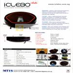 MT18 Global IClebo Arte Cleaning Robot Specifications