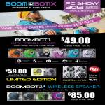 Boombotix Wireless Speakers, Boombot1, Boombot2