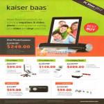 Kaiser Baas IPad PhotoScanner, PhotoMaker, Pro, Touch, DVD Maker, Vinyl Converter