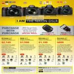 Digital Cameras DSLR D7000, D90, D5100, D3100