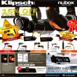 Klipsch Earphones Image S3, S4, Reference S4, S4i, X10i, Gallery G-17 Air Speaker System, IGroove