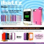 Ibattz Mojo Vogue Removable Battery, Armour Kit