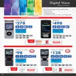 Digital Camera Digital Voice Recorders, DM-650, DM-5, VN-711 PC, VN-712 PC
