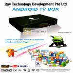 Ray Tech Android Ray TV Box Media Player Specifications