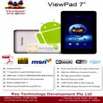 Ray Tech Viewsonic ViewPad 7 Andorid Tablet