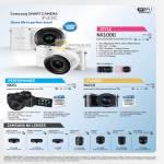 Digital Cameras NX1000, NX20, NX210, Lenses