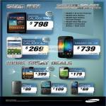 Smartphones Galaxy Tab 7.7, Galaxy Ace, Galaxy Nexus, W, Mini, C3560, Chat 322, E1232B