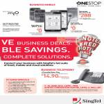 Singtel Business Specials, Blackberry Bold 9790, Samsung Galaxy S III, Note, Mio TV, I-PhoneNet Basic Telephony