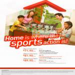 Mio Home Sports, Home Broadband, Mio TV, Home Line