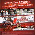Mio TV Combo Packs, Jingxuan Combo Pack, Astro, Tamil Combo Pack
