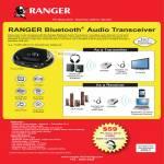 Systems Tech Ranger Bluetooth Audio Transceiver RG2ACAT0200