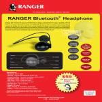 Systems Tech Ranger Bluetooth Headphone