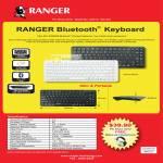 Systems Tech Ranger Bluetooth Wireless Keyboard RG2ACKB239