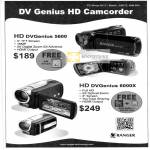 Systems Tech Ranger HD DVGenius 5600, 6000X Video Camcorder
