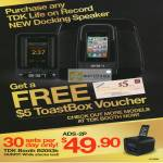 Free ToastBox Voucher With Purcase, ADS-2P