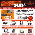 Shure SRH 240 Headphones, SRH 440, SRH 940, SRH 750DJ, Panasonic Technics RP-Dh1200, RP-HTF600