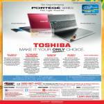 Notebooks Portege Features, Windows 8