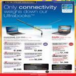 Notebooks Portege Z930-2002, Z830-2005U, Z930-2004, Z830-2004U, Z930-2007, Satellite U840-1005U, U840-1006U