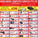 Worldwide Computer Accessories MP3 Player, HDMI, FM Transmitter, USB TV Radio, Keychain Camera, LAN Cable, Mouse, Splitter, Video Capture