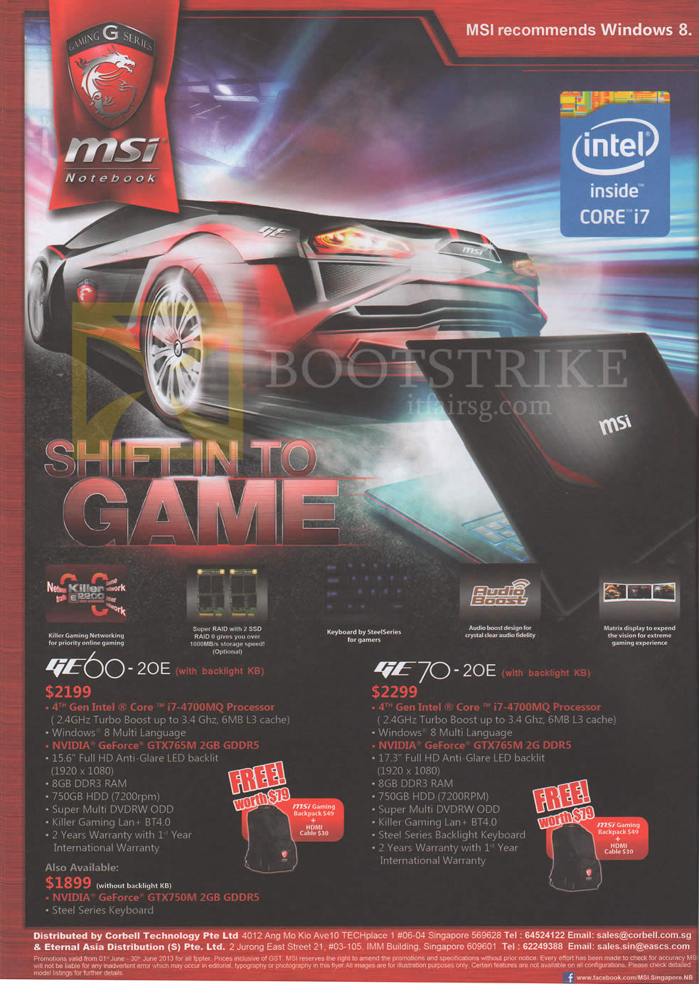 PC SHOW 2013 price list image brochure of MSI Notebooks GE60-20E, GE70-20E