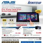 Desktop PCs AIO ET2220IUTI-i3, CM1745-A10