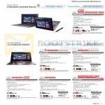 Notebooks TAICHI31-CX018P, ZENBOOK UX31A-C4027H, UX31A-R4003H, UX31A-R4036H, UX32VD-R4030H, UX52VS-CN049P