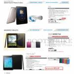 Tablets Fonepad ME371, Memo Pad ME172V, Nexus 7