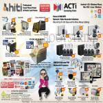 HiTi Mobile Desktop Photo Printer, ACTi Home SMB Corporate POE Network IPCam