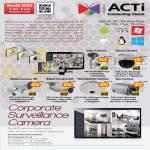 IPCam Surveillance ACTi Cube Dome Bullet Hemispheric Box SpeedDome