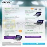 Notebooks S3 V5 Aspire V5-131-10072G50n, V5-122P, V5-571-53334G50Ma, E1-421-21804G50Mn, V5-471G-53334G50Ma, S3-391-S3334G52a, V5-572G-73538G1Ta
