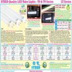 Steed Tube Lights LT T8 T9 CW LED