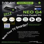Neo G4 Pocket PC Features