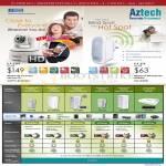 Networking IPCam WIPC408HD, Extender WL559E, HomePlug AV Comparison Table