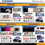 Digital Cameras ZS15, ZS20, ZS150, ZR200