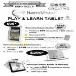 Creative HansVision Scholar Bundle Tablet Bundles, Hanzpad