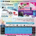 Networking DCS-942 Mydlink Cloud IPCam, NAS, DCS 930L 932L 942L 5222L 2132L 2310L 6010L 7010L