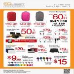 Accessories Bags, Packs, Incase Case, Headphones Sonic Reflex Pivot Capsule, Paul Frank Sleeves, Motorola EH25