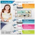 Networking Routers ESR150H, ESR9850, EUB9707, ERB150H Extender Media Bridge