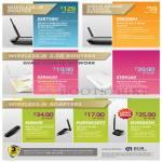 Networking Routers ESR750H, ESR6650, ETR9360, Adapters EUB600, EUB9603EXT, EUB9603H, Extender ERB300H