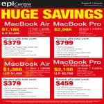 Notebooks Apple MacBook Air, MacBook Pro