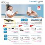 Innergie PocketCell Portable Chargers, MMini AC21, DC 21, Duo USB Car Charging Kit, MMini DC10 AC15, Magic Cable