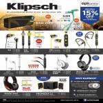 Klipsch KMC3 Bluetooth Speakers, Earphones S4, S4i, S4A, S4i, A5i, X7i, X10i, Headphones Image One, Mode M40, Promedia 2.1