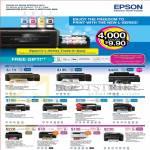 Printers Inkjet L110, L300, L800, L210, L350, L355, L550, T60, XP-102, XP-202, WF-2548