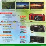 Fujifilm Digital Cameras F660EXR, XP60, JX550