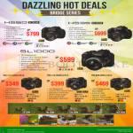 Fujifilm Digital Cameras HS50EXR, HS35EXR, SL1000, S4800, S4900, S8200