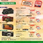 Fujifilm Digital Cameras SL310, F800EXR, XP170, JZ200