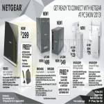 Netgear Networking R6300 Router, NAS RN10400, RN10200, WN3500RP Wireless Extender, WN3000RP